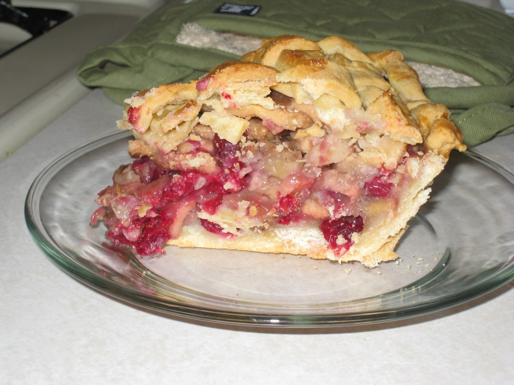 Apple-Cranberry-Walnut Pie::A mouthful of goodness | nate elston