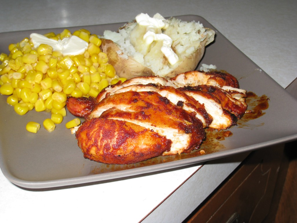 Smoked Paprika and Chipotle Baked Chicken | nate elston