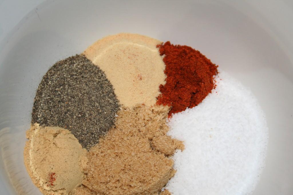 Jerky Rub Ingredients