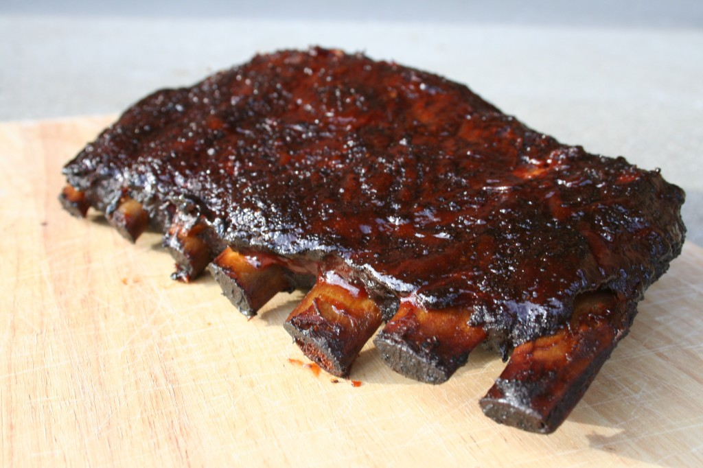 Ribs cooked to perfection