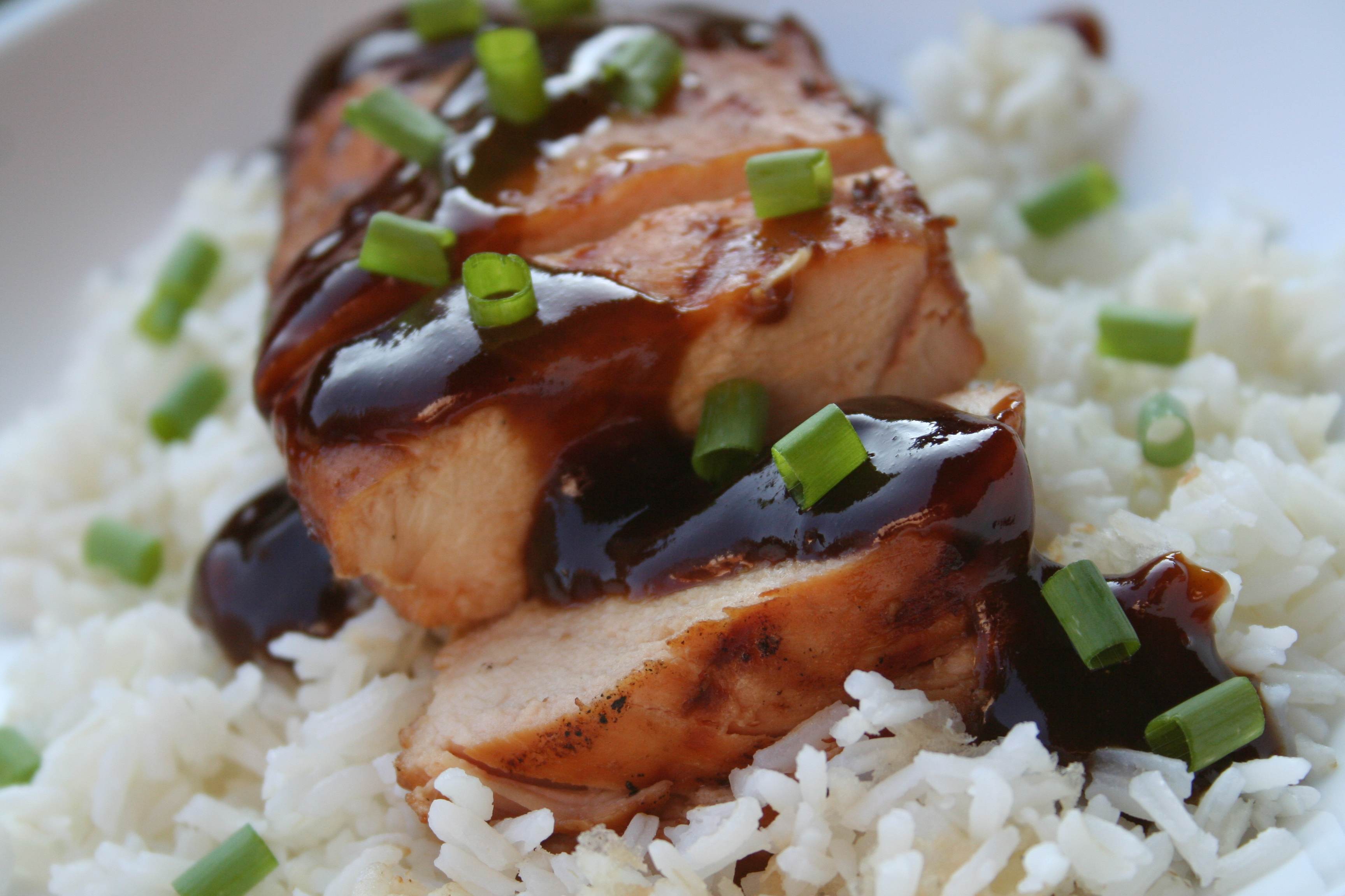 Grilled Teriyaki Chicken from Scratch