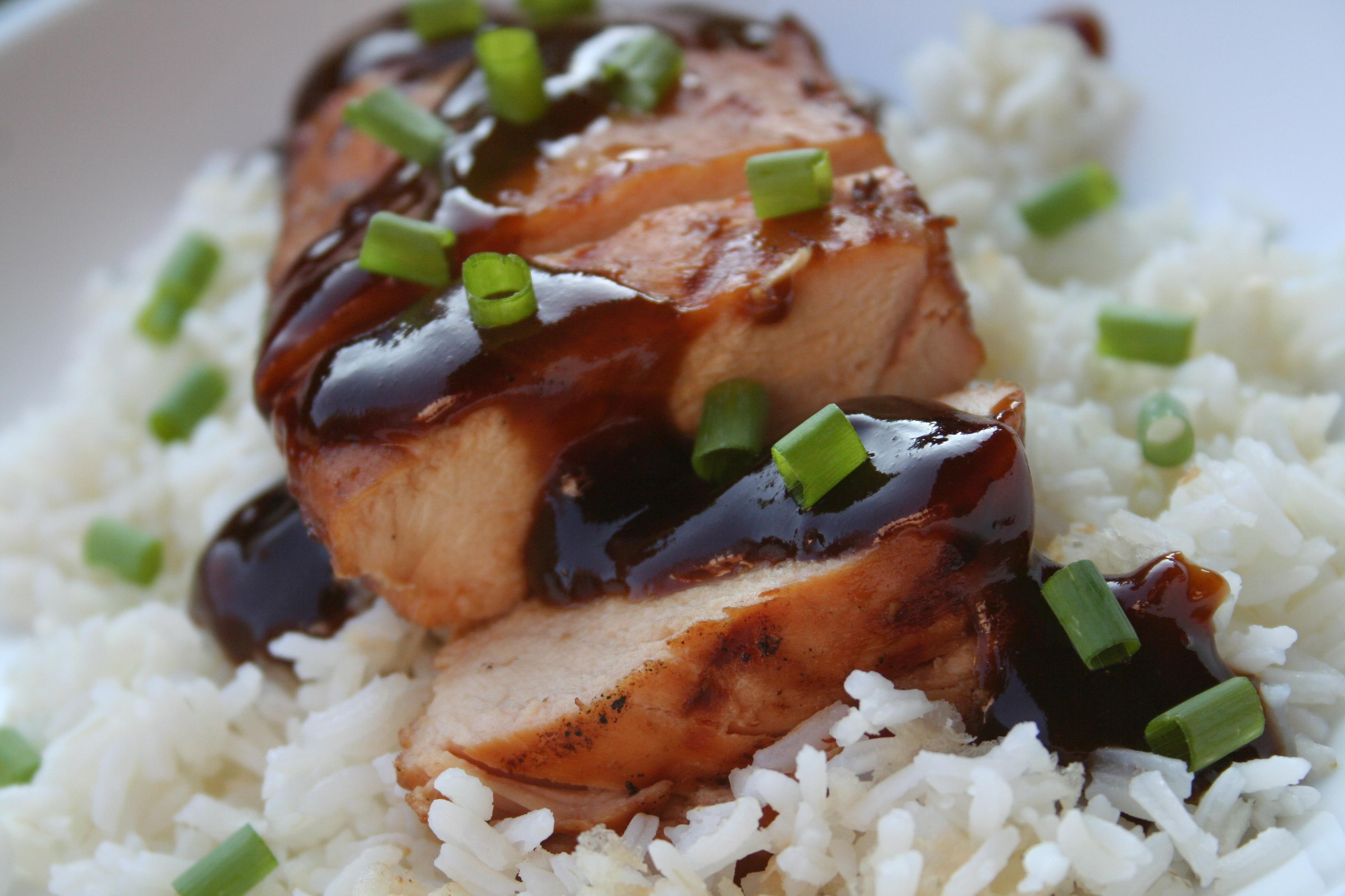 Grilled Teriyaki Chicken from Scratch